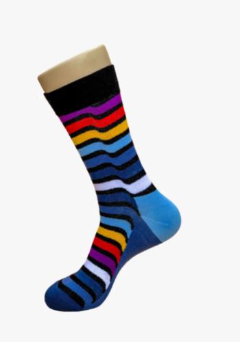 Wavy-Stripe-smiley-socks